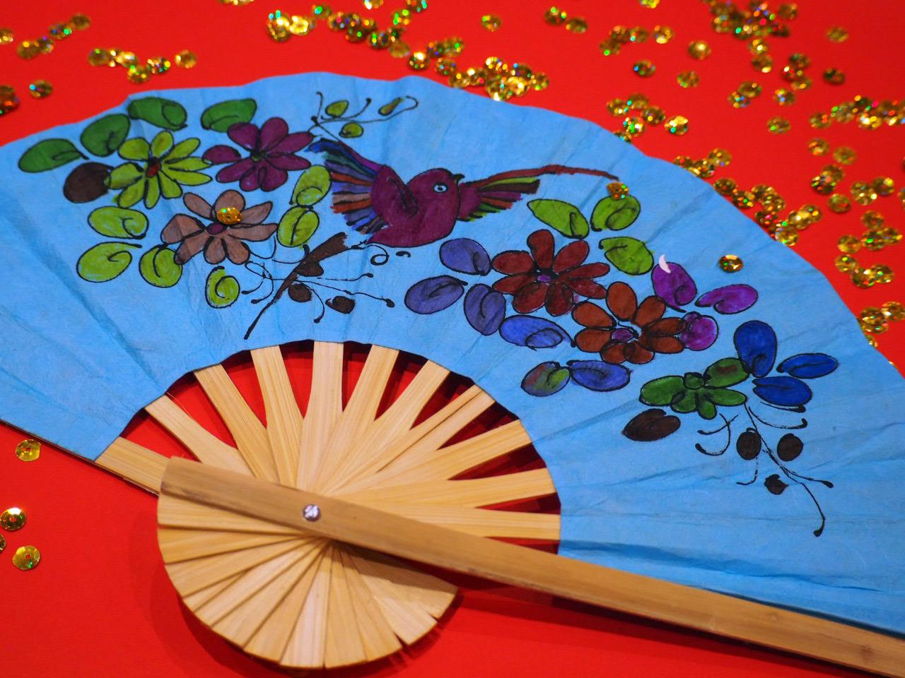 Fan Painting